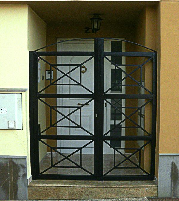 Rejas portones hierro forjado protecci balcones car - Rejas de hierro forjado ...